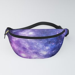Galaxy Planet Purple Blue Space Fanny Pack