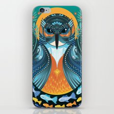 The Nesting Fisher King iPhone & iPod Skin