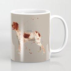 Brittany Spaniel, dog painting, Spaniel watercolor Mug