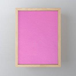 Hot Pink Framed Mini Art Print