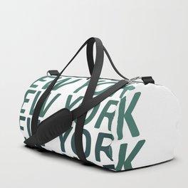 New York Green Haze Duffle Bag