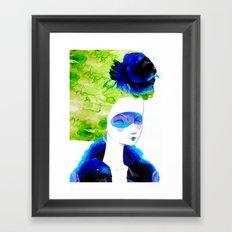 The breeze Framed Art Print