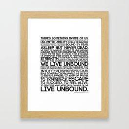 The Manifesto Framed Art Print