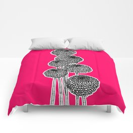 Rounded Flower Comforters