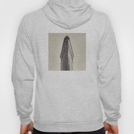 Flatiron Building, original New York photography, skyscrapers, wall decoration, home decor, nyc b&w Hoody