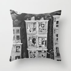 Downtown Throw Pillow