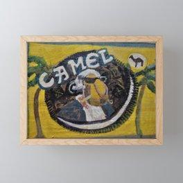 Cool Camel Framed Mini Art Print