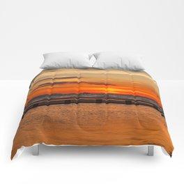 Sunset Seascape Comforters