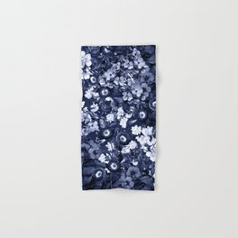 Bohemian Floral Nights in Navy Hand & Bath Towel