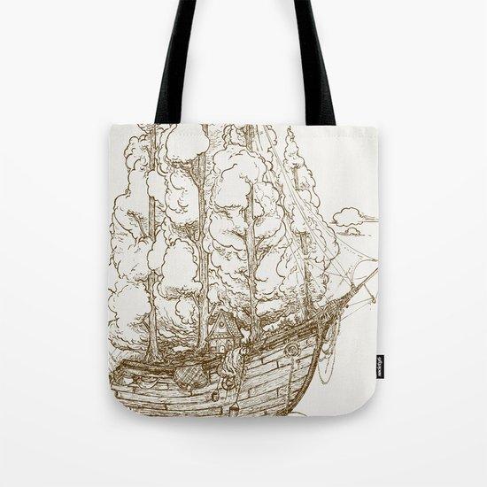 Voyage Home Tote Bag