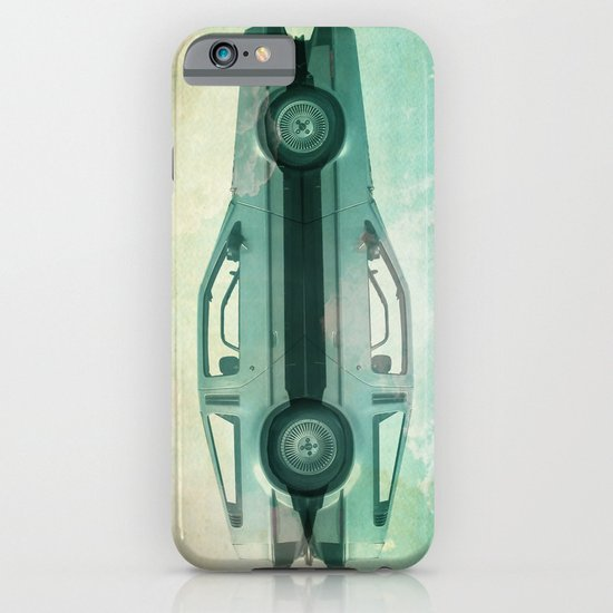 Siamese  Delorean iPhone & iPod Case