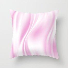 Soft Silk Satin 1 Throw Pillow