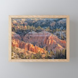 Fairyland Canyon Framed Mini Art Print