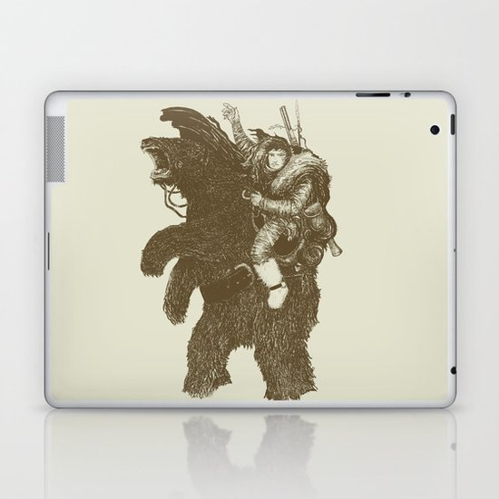 Bearpoleon Laptop & iPad Skin