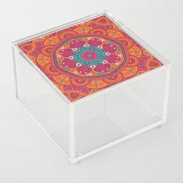 Colorful Mandala Pattern 017 Acrylic Box