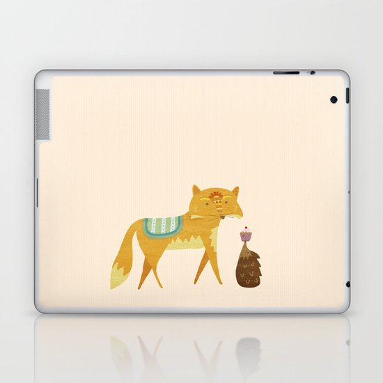 The Fox and the Hedgehog Laptop & iPad Skin