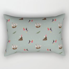 Neverland Pattern Rectangular Pillow