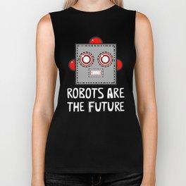 Robots are the Future Biker Tank