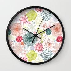 Sweet Paradise Wall Clock