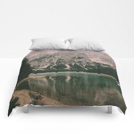 Braies Lake #1 Comforters