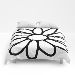 Imperfect Daisy Outline Comforters