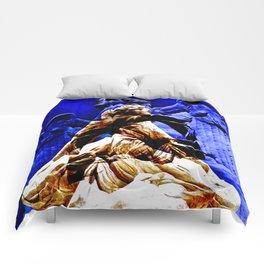 Blue Angel Wings Comforters