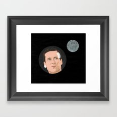 You an astronaut or something? Framed Art Print