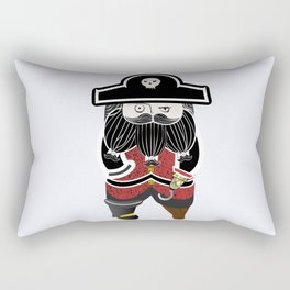 The Captain Rectangular Pillow