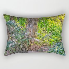 Beautiful rain forest growth Rectangular Pillow