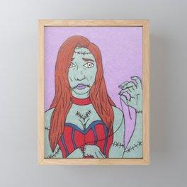 All Stitched Up Framed Mini Art Print