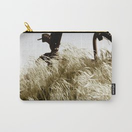 Tall Grass in the Wind Carry-All Pouch