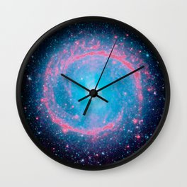 Lying in a zero circle ii Wall Clock
