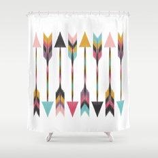 Bohemian Arrows Shower Curtain