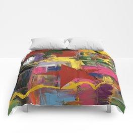 Fantasia in Pixels Comforters