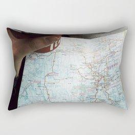 On route to Timmins Rectangular Pillow