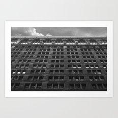vertical sky Art Print