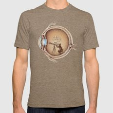 Extraordinary Observer Mens Fitted Tee Tri-Coffee MEDIUM