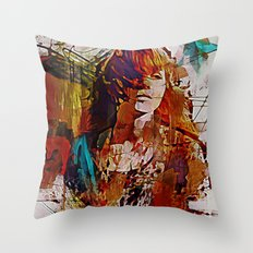 Myrrh Throw Pillow