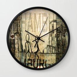 Hamburg Wall Clock