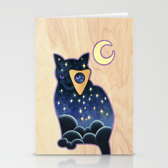 Ouija Cat by kkellerart