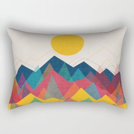 Uphill Battle Rectangular Pillow