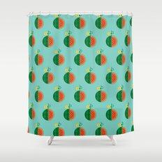 Fruit: Watermelon Shower Curtain