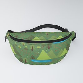 Outdoor Escape Pattern Fanny Pack