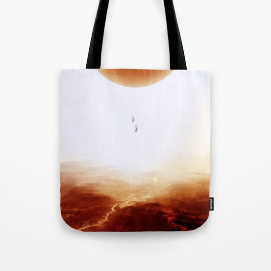 Mars Diving Tote Bag