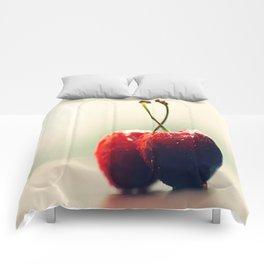 Two Gourmet cherry Comforters