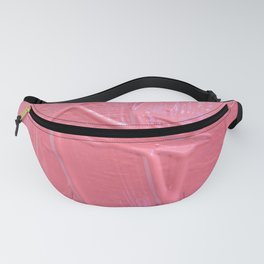 Pink Paint Texture Painting Fanny Pack