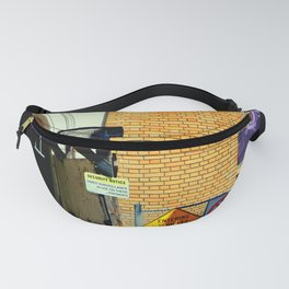 Caution - Security Notice - Sound Horn Fanny Pack