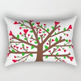 Tree of Love, Tree of Life Rectangular Pillow
