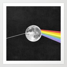 Dark Side of the Moon. Art Print