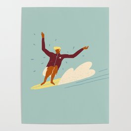 Surf buddy Poster